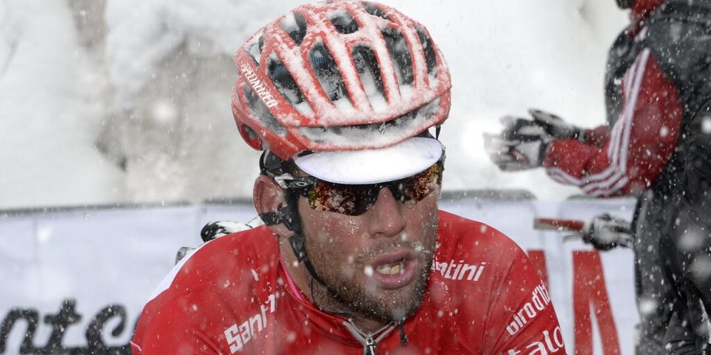 Cavendish won the points competition at the Giro - but did this cost him at the Tour? (Image: Sky Sports Cycling twitter)