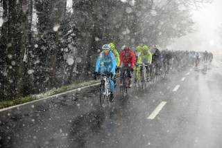 Sow in Italy in March at Milan-San Remo (image Astana)