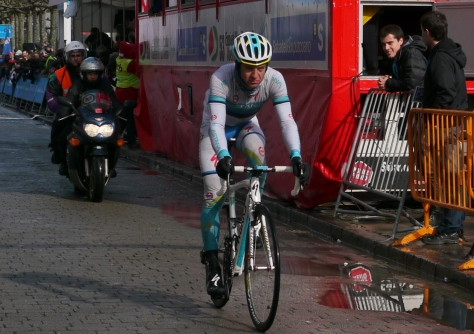 Kanert found the weather in the Basque country to be ideal training for the Giro (image: Richard Whatley)