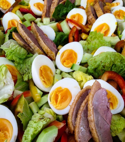 Duck and Egg salad