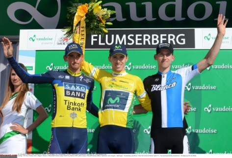 Could Rainbow Rui do the treble this year? (image: Tour de Suisse)
