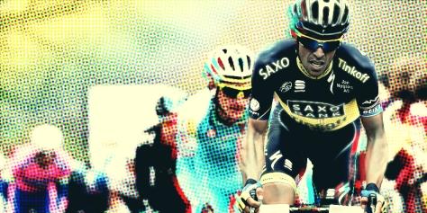 Panache poptastic Alberto Contador