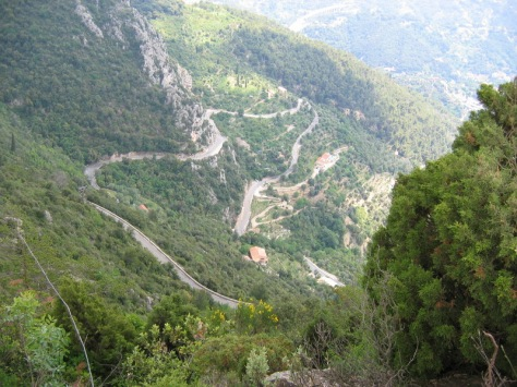 The Pros favourite training climb - Col de La Madone