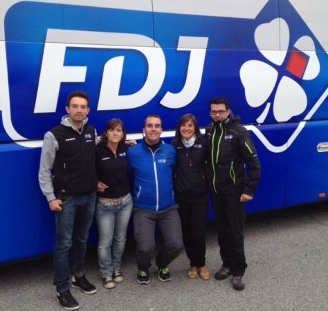Part of FDJ team