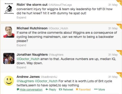 Wiggins audience numbers