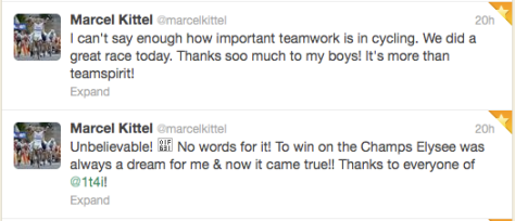 Arc 3 Kittel thanks