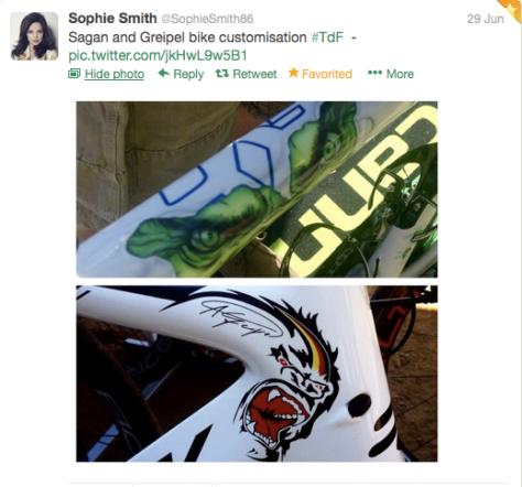 Bike customisation