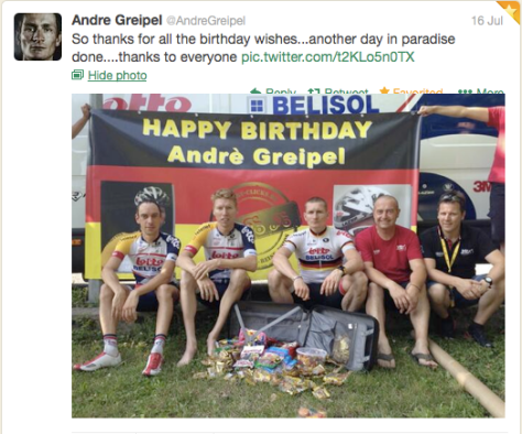 G Greipel birthday