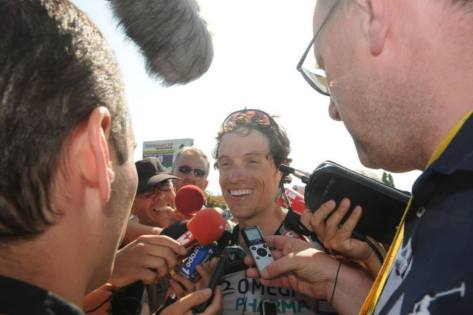 TdF Chavanel smiling interview ASO