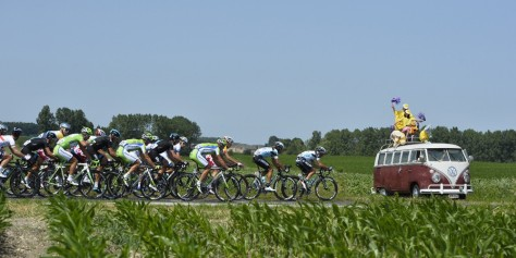 Only at the Tour ... (Image: Presse Sports/ASO)