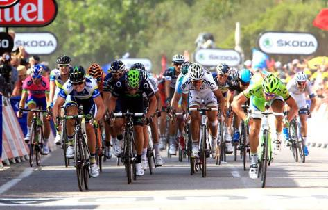 Gerrans (seen here winning at the 2013 Tour) earned the distinction of being the 100th winner of La Doyenne (Image: Orice-GreenEDGE)