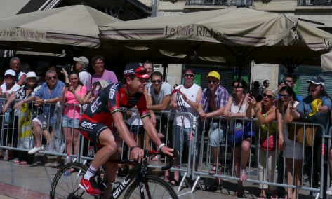 Cadel enjoying himself (image: Sheree)