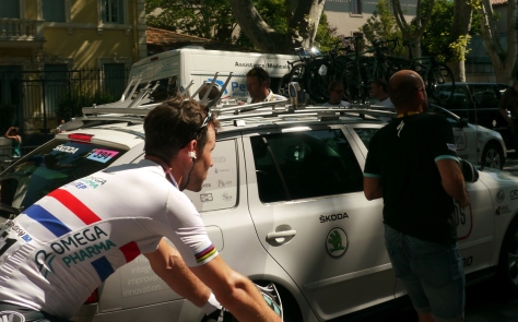 One for Tim #mancrush, a rare sighting of Cav (image: Sheree)