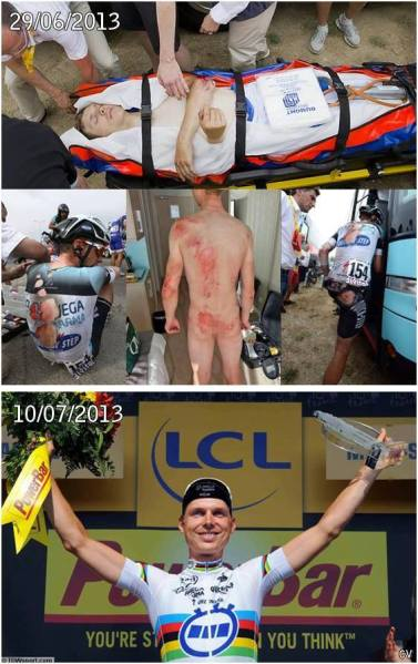 Despair and pain on stage one to emphatic victory on stage 11, Tony Martin (montage: Laura Meseguer)
