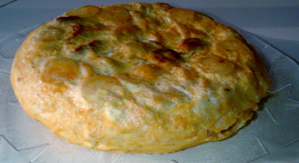 Chorizo and potato tortilla (image: Sheree)