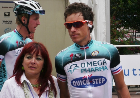 Sylvain Chavanel, popular with Soanish housewives too! (image: Sheree Whatley)