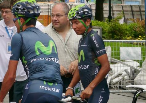 Tour de France runner-up, Nairo Quintana (image: Richard Whatley)