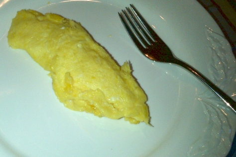 Honey breakfast omelette (image: Sheree)