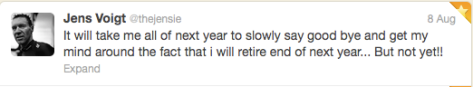 Jens retirement 2