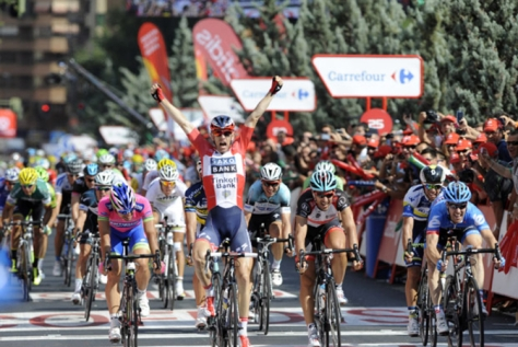 Morkov wins, but the day was all about Tony Martin (Image: Vuelta a Espana)