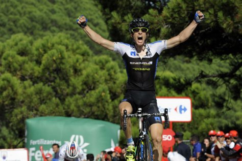 Konig left a positive impression on all of us (Image: Vuelta website)
