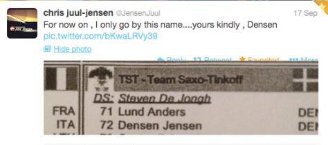 G Densen Jensen