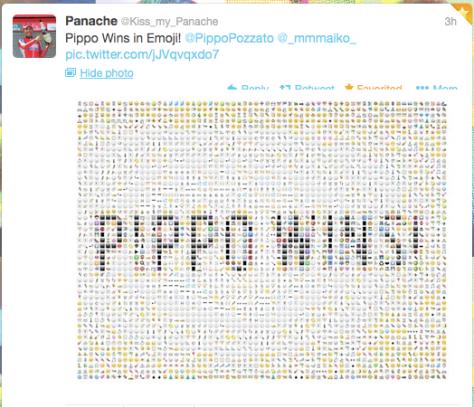G Pippo wins Emoji