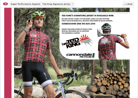 G Ted King lumberjack