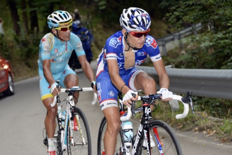 Kenny Elissonde is hoping to add to last year's stage win atop the Angliru (Image: La Vuelta)