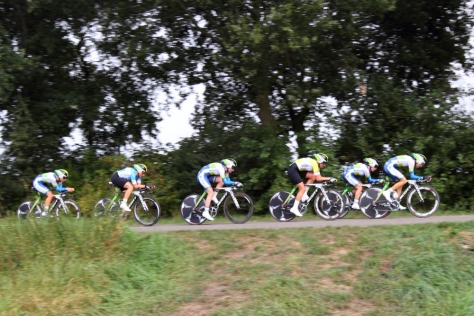 Orica-AIS winners of recent team time-trial in Holland  Tour (image: Orica-AIS)