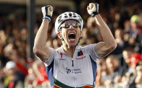 New world champion Rui Costa finished ninth overall last year (Image: Toscana 2013(