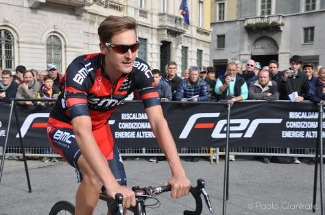BMC's Marcus Burghardt sporting an impressive quiff
