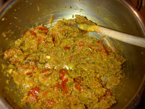 Curry paste for mussels (image: Sheree)