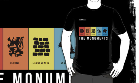 monuments-t-shirt