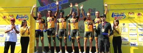 In addition to winning Milan-San Remo, MTN-Qhubeka won the best team award at this year's Tour de Langkawi (Image: MTN-Qhubeka)