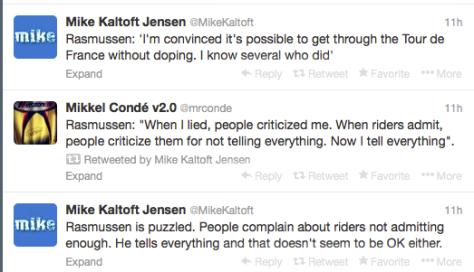 Rasmussen TdF w:o doping