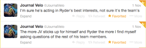 Ryder JV sticking up 1
