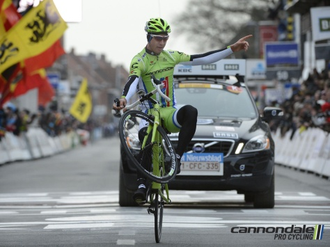 It's not easy being green - unless you're Peter Sagan, that is ... (Image: Cannondale)
