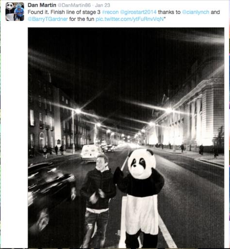 Dan Martin panda 3
