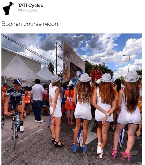 Boonen back san luis