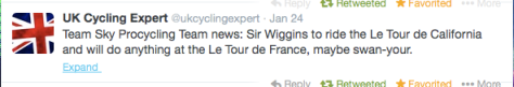 Wiggo role for Tour 2