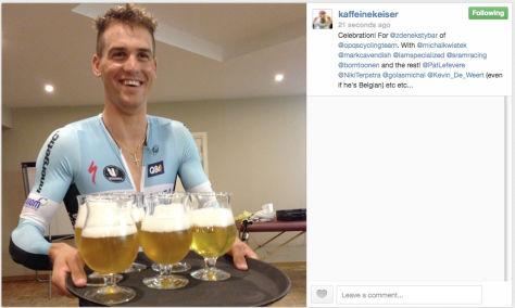 CX Stybar beers