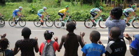 Should a genuine WorldTour bring us more images such as this? Many of you thought so (Image: La Tropicale Amissa Bongo website)
