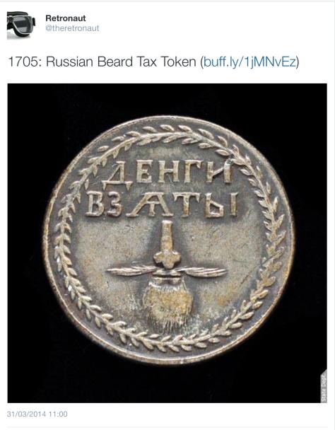 G Beard tax medal