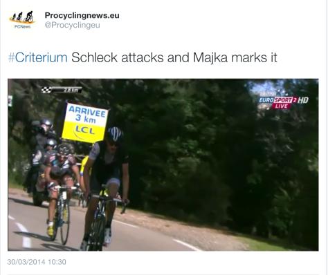 G Schleck attack