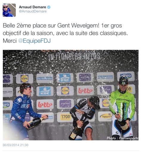GW podium champers
