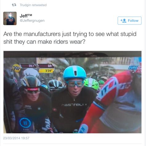 Helmet debate 5