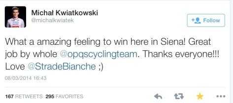 SB Kwait feeling to win
