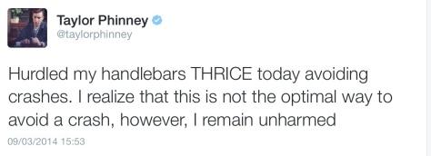 Phinney handlebars thrice