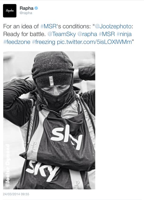 MSR start Sky soigneur